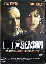 OUT OF SEASON (2004) - NEW & SEALED R4 DVD (DENNIS HOPPER, GINA GERSHON)