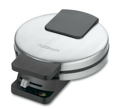 Round Nonstick Classic Waffle Maker 4 Quarters with 5 Settings Browning Control