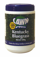 Lawn Pro USA Kentucky Bluegrass Lawn Seed 500gm Covers 40sqm Show Quality