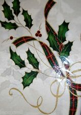 Lenox HOLIDAY NOUVEAU Gold Tablecloth 60x140 Oblong New sealed 822197