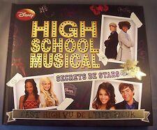 HIGH SCHOOL MUSICAL / SECRETS DE STARS / LIVRE DISNEY GRAND FORMAT