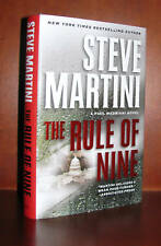 The Rule of Nine, Steve Martini **Signed 1st Edition, HC/DJ 10 9 8 7 6 5 4 3 2 1