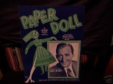 PAPER DOLL..MILLS BROS.,BING CROSBY..1943..