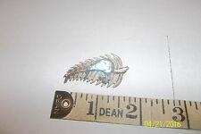 Antique Vintage Jewellery New Zealand Kiwiana Paua Shell Sterling Silver brooch