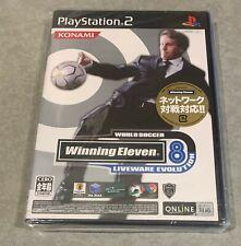 Winning Eleven 8 World Soccer Liveware Evolution [PS2] Japan Import-NEW, SEALED!