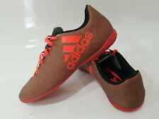 Adidas Performance Firm-Ground Soccer Cleat Sz 7.5 Cli037001 Orange Shoes