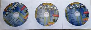 1970'S SOUL 3 DISC SET KARAOKE CDG CHARTBUSTER 5057 CD+G MUSIC R&B