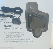 PASSPORT ESCORT RADAR SMART CORD DIRECT WIRE wMUTE BLUE LED NEW