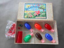 Ancien jeu vintage LE COCHON QUI RIT 6 joueurs. Très bon état.