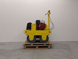 HOC DDR60 DOUBLE DRUM ROLLER COMPACTOR VIBRATION ROLLER + 2 YEAR WARRANTY