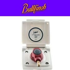 Bullfinch BBQ Gas Point Outdoor Utility Gas Connector in WHITE