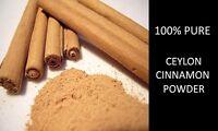 1kg  Ceylon Cinnamon Powder - GRADE A Highest Quality! FREE P&P