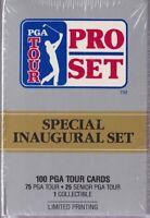 1990 Inaugural Box Set of Professional Golf Trading Cards - PGA Tour Senior Mint