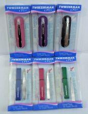 Tweezerman LTD Petite Tweeze Tweezer with Case Slant Tip You Choose Color