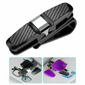 1pcs Car Glasses Holder Clip Case Sunglasses Eyeglasses Ticket Card Clip Holder