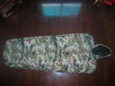 07's series China PLA Woodland Digital Camouflage Sleeping Bag,-20℃ ~ 0℃