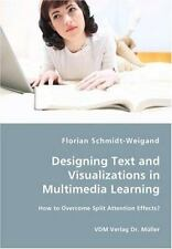 Designing Text and Visualizations in Multimedia Learning - How to Overcome...