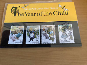 British Post Office Mint Stamps, The Year Of The Child,4 Stamp Presentation Pack