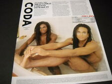 MILLI VANILLI 25 Years Ago retro pic/print PROMO DISPLAY AD from 2014 MINT COND