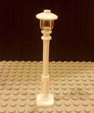 Lego New Set/1 City/Town/Village White Street Light Lamp Post