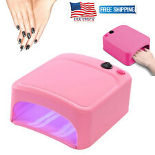 36W Uv Lamp Nail Polish Light Nail Dryer Gel Curing With Timer Manicure Dryer