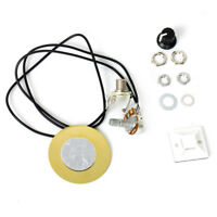 Piezo Contact Microphone Pickup Transducer for Guitar Ukulele Mandolin 1 Pot