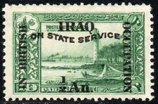 1920 Iraq Sg O19 ½a on 10pa 'On State Service' Overprint Mounted Mint