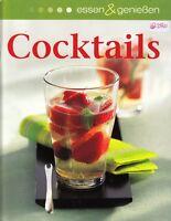 Cocktails + Beliebte Drinks mit und ohne Alkohol + Barbuch Großformat + Trendig