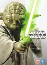 Star Wars The Prequel Trilogy 3-Disc Dvd Brand New & Factory Sealed