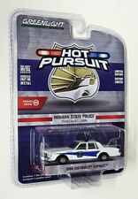 Greenlight 1/64 Scale - 1986 Chevrolet Caprice Indiana State Police Diecast Car