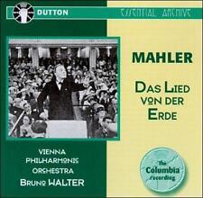 Bruno Walter Conducts Mahler: Das Lied von der Erde (CD, Dutton Import, AM)