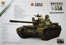 Neuheit Panzer Kit Bausatz T-55A mit Getriebe und Turm Elektronik 1:16 Hooben