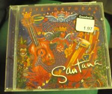 Santana Supernatural Cd late-90's pop-rock Rob Thomas Dave Matthews Lauryn Hill