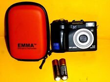 Digital Olympus SP-350 8.0MP Point Shoot Camera  Works Great Shoots Raw Uses AA