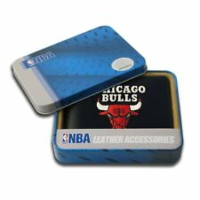 Chicago Bulls NBA Embroidered Leather Billfold Bi-fold Wallet ~ New