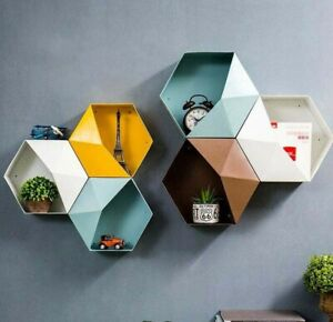Small Plastic Storage Container Box DIY home decoration wall hanging flower room