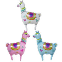 llama foil balloons alpaca helium party balloon birthday wedding party decor CO