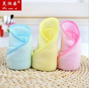 Bamboo Fiber Soft Soothing Face Towel Cleaning Wash Cloth Hand Towel Wipe Travel