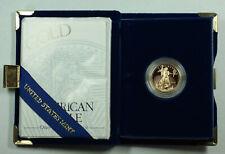 1997-W Proof 1/4 Oz American Gold Eagle $10 Coin w/ Box & COA