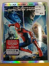 The Amazing Spider-Man 2 (Blu-ray/DVD, 3D, 3-Disc, Includes Digital Copy) - NEW!