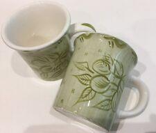 Trish Richman At Home Decorative Housewares Coffee Mug 2 Garden Vegetables Cup