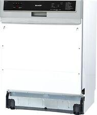 SHARP Geschirrspüler Spülmaschine Einbauspülmaschine teilintegriert 60 cm A+++