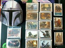 2020 Topps Star Wars Mandalorian Season 1 Complete SET & INSERTs + hobby box tin