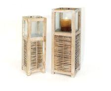 Windlicht Laterne Holz 14021 -22 Dekoration Kerze Möbel Wohnen Kerzenständer