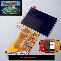 Para Game Boy Advance GBA 10 Niveles Brillo IPS Pantalla TFT Kits Set Recambios