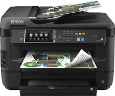 Epson - WorkForce WF-7620 Wireless Wide-Format All-In-One Printer Copier Scanner