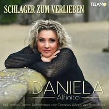 DANIELA ALFINITO - SCHLAGER ZUM VERLIEBEN   CD NEUF