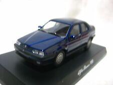 1:64 Kyosho Alfa Romeo 155 Blue Diecast Model Car
