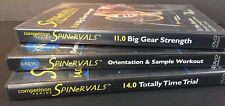 Spinervals Set 3 Competition + Sample Series Indoor Cycling Workout DVD Series