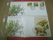 FDC MALAYSIA 2001 - Bunga-bunga wangi Malaysia (Set of ms & stamps fdc)